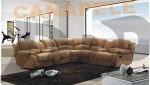 Coltar cu recliner si bar Agnes K6126