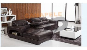 Coltar piele living model Alteea CB821