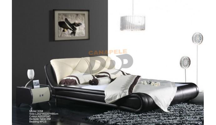 Pat de dormitor Anubis 306 (CI-CED)