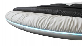 Dormitor  rotund piele model Estella C558(M)