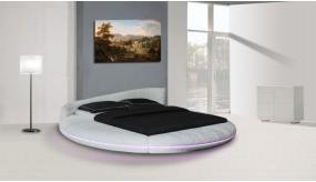 Dormitor  rotund piele model Estella A601